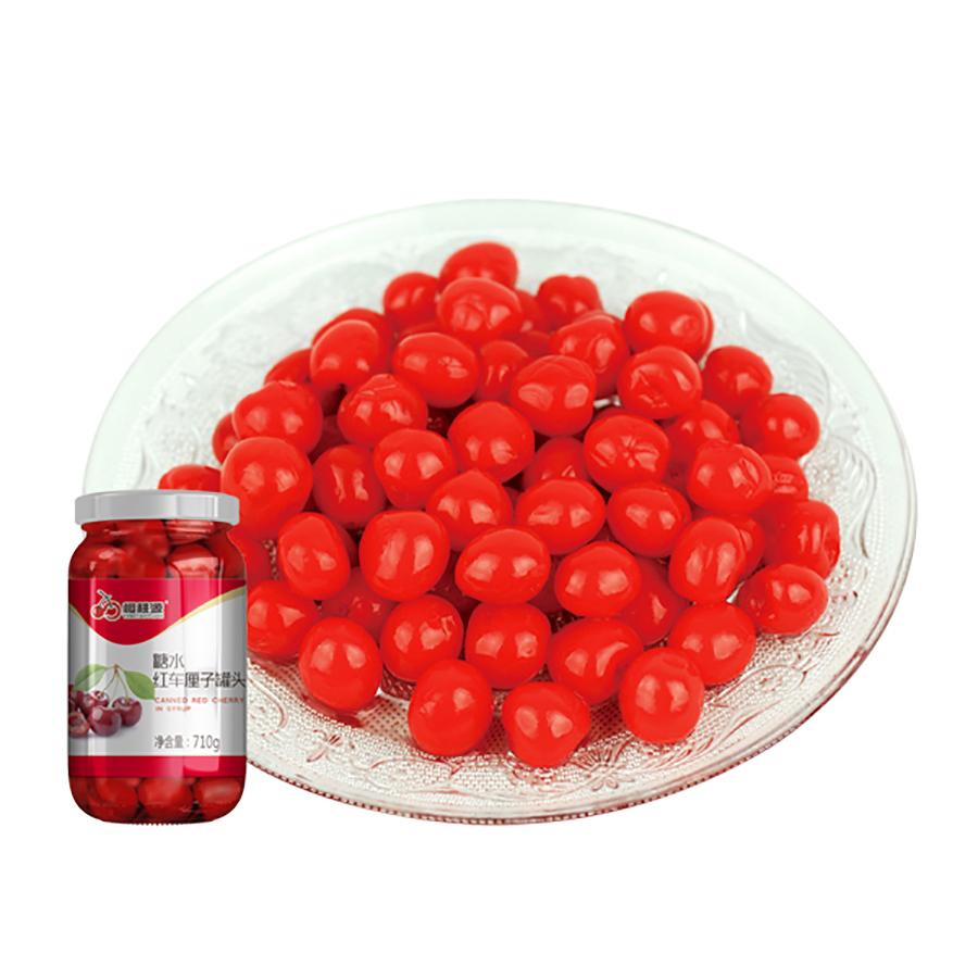 糖水红车厘子罐头(无枝)
